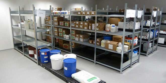 Almacenamiento productos Quimicos